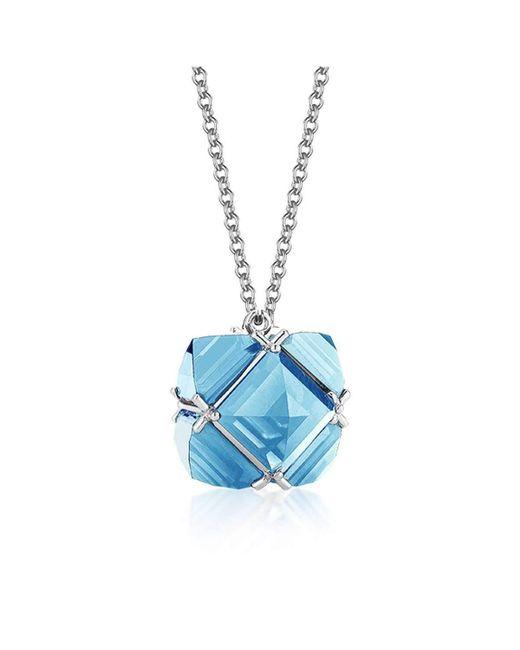 Paolo Costagli New York | Blue Topaz 'very Pc' Pendant Necklace, Petite | Lyst
