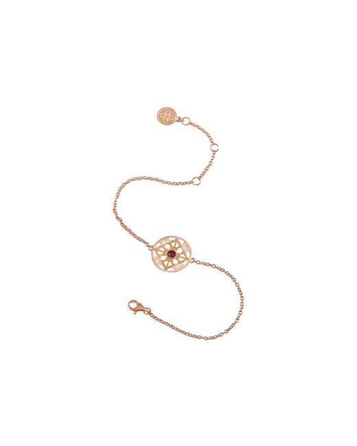 Silatha - Fine Jewellery & Meditation - Metallic The Anchor Of Strength Rose Gold Bracelet - Lyst