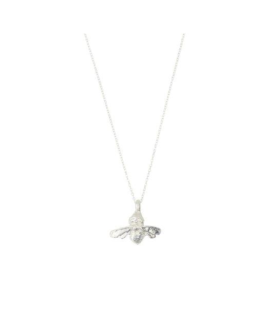 Deborah Blyth Jewellery - Metallic Sterling Silver Bumble Bee Necklace - Lyst