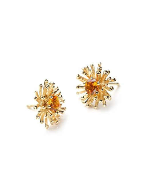 Ehinger Schwarz 1876 - Metallic Big Bang Earring - Lyst