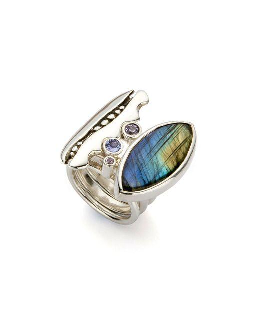 John S Roberts Artist-Jeweller - Multicolor Glade Seeds I Stacker Ring - Lyst