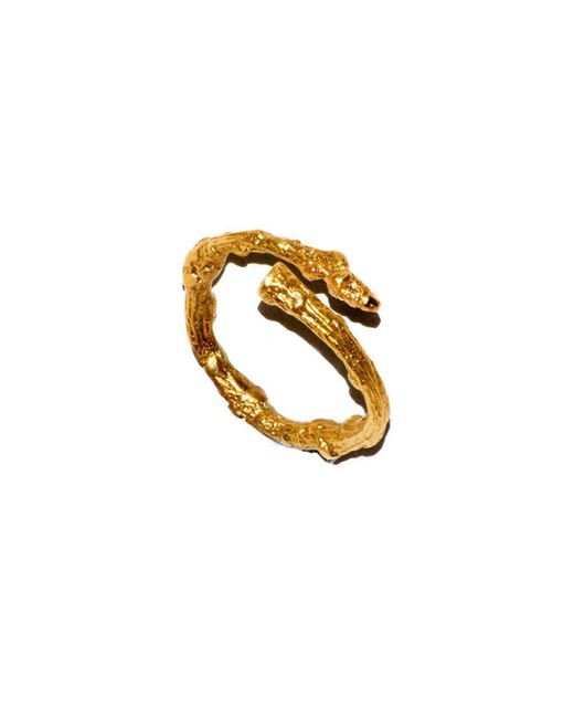 Tracy Hills Jewellery - Multicolor Gold Vermeil Twig Ring - Lyst