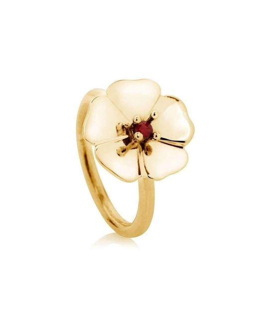 Augustine Jewels - Multicolor Gold And Ruby Cotswold Ring - Lyst