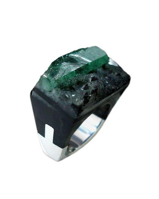 Pasionae | Green Emerald Ring - Lust | Lyst