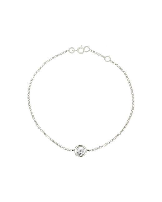 London Road Jewellery - Multicolor White Gold Solitaire Diamond Raindrop Bracelet - Lyst
