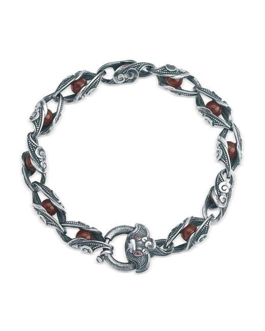 Suciyan | Multicolor Dragon Knot Ruby Sterling Silver Bracelet | Lyst