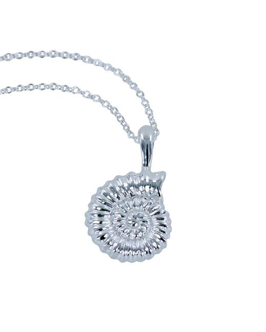 Reeves and Reeves - Blue Ammonite Necklace - Lyst