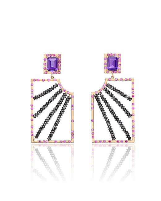 Nicofilimon - Blue Generosity Earrings - Lyst