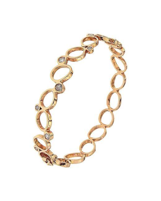 Botta Gioielli - Multicolor Rigid Rose Bubbles Bracelet - Lyst