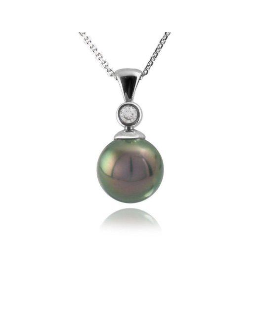 Jupp Fine Jewellery - Multicolor Tahitian Pearl & Diamond Pendant - Lyst