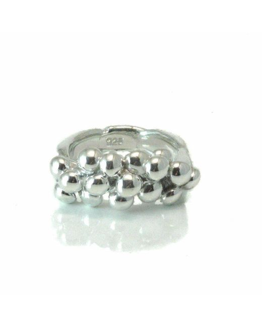 Private Opening - Metallic Pomegranate Sterling Silver Ring - Lyst