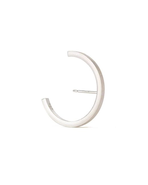 aka jewellery - Metallic Sterling Silver Concord Lobe Cuff Earrings - Lyst