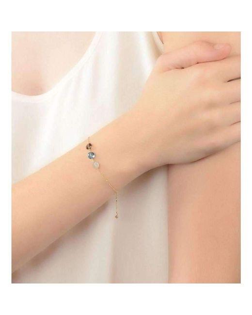 Perle de lune Trio Gemstones Bracelet Blue 18kt Gold Sfi9H5