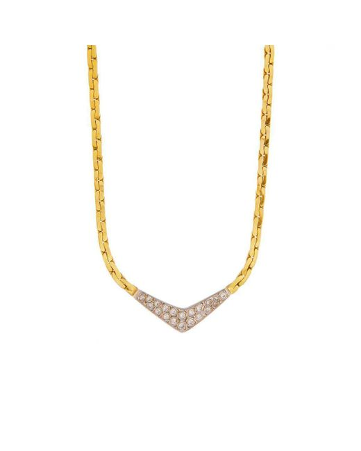 Alexis Danielle Jewelry - Metallic Lariat Victory Necklace Yellow Gold - Lyst