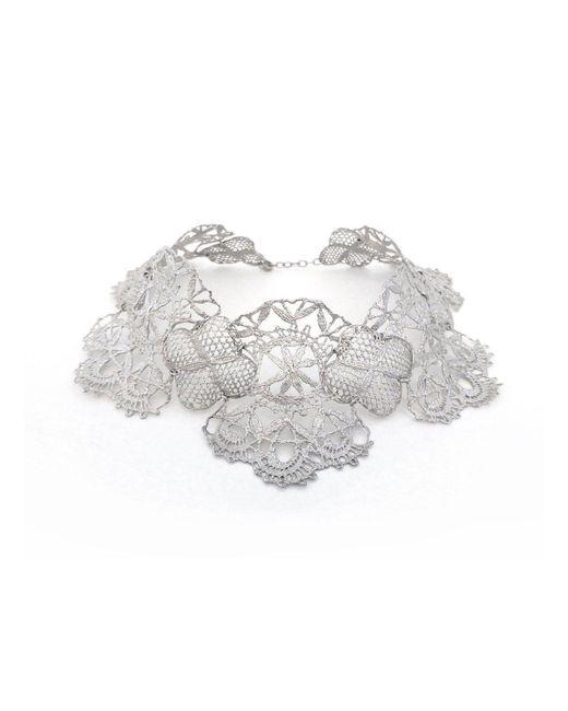 Brigitte Adolph Jewellery Design - Multicolor Venezia Platinum Lace Collier - Lyst