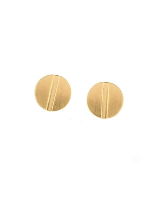 Joanna Laura Constantine | Metallic Large Nail Stud Earrings | Lyst