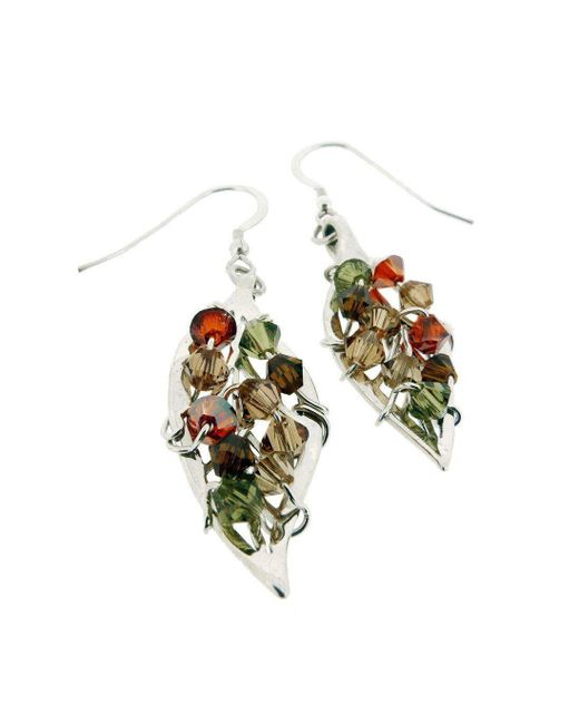 Rachel Helen Designs - Metallic Sterling Silver Four Seasons Earrings - Lyst