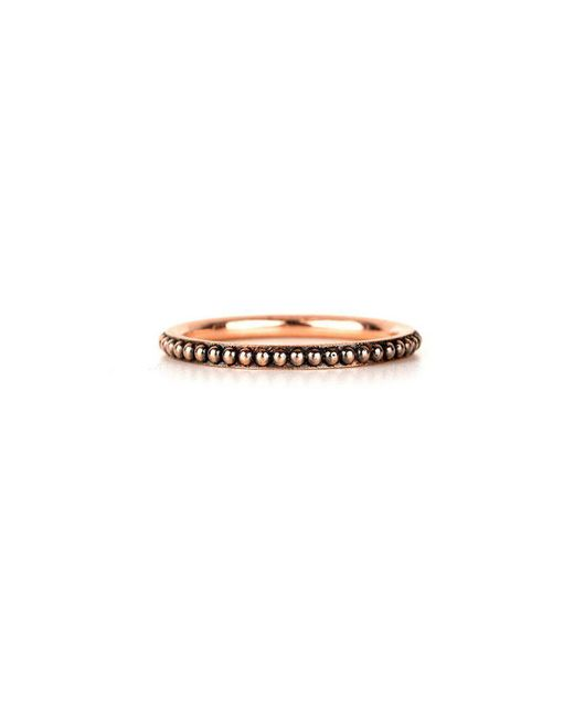 Sylva & Cie - Multicolor Oxidised Caviar Stack Band - Lyst
