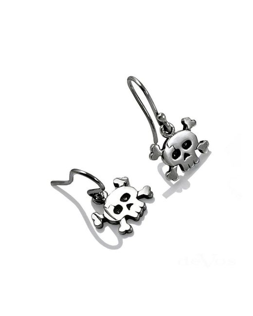 deVos Jewellery - Multicolor Jolly Roger Earrings - Lyst