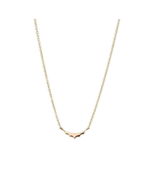Mimata - Metallic Empress - Yellow Gold Necklace - Lyst