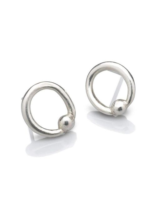 Naomi Tracz Jewellery - Metallic Orb Stud Earrings - Lyst