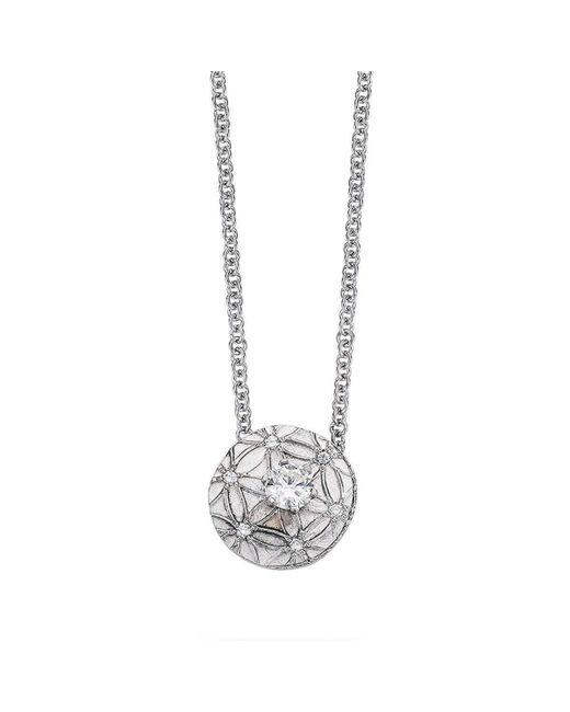 Karla Mertens   Multicolor Diamond Of Life Necklace White Gold   Lyst
