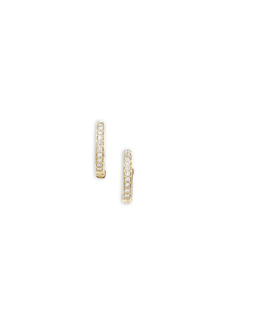 London Road Jewellery - Multicolor Portobello Meridian Yellow Gold Diamond Hoop Earrings - Lyst