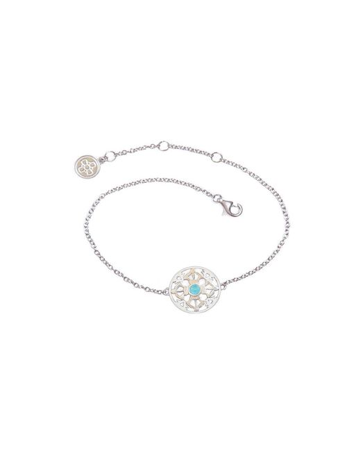 Silatha - Fine Jewellery & Meditation - Multicolor The Ocean Of Infinity White Gold Bracelet - Lyst