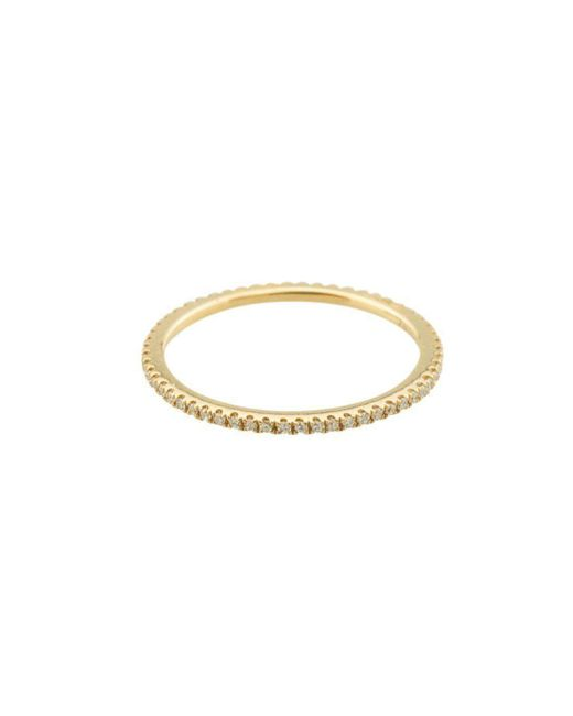 Mara Hotung - Metallic Caresse Collection Diamond Eternity Ring In Yellow Gold - Lyst