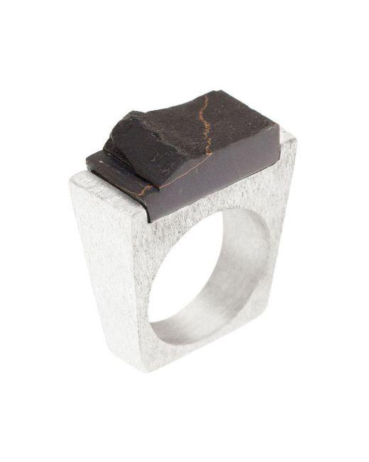 Pasionae - Multicolor Lava Ring - Lyst