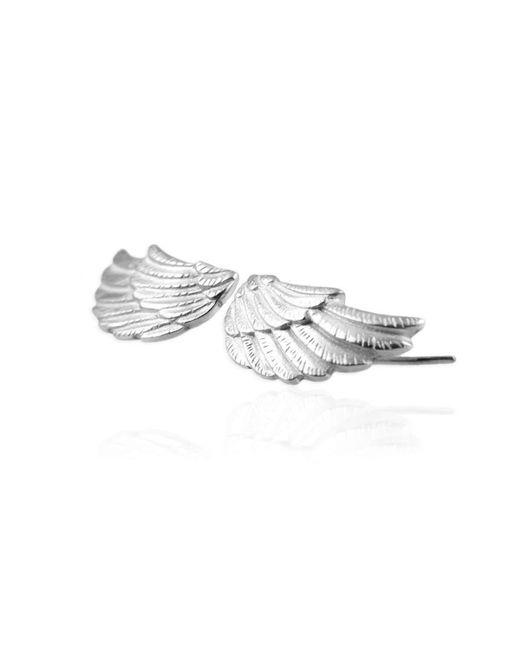 Jana Reinhardt Jewellery - Metallic Silver Wing Earrings - Lyst