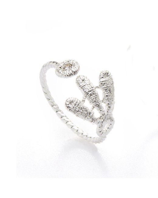 Brigitte Adolph Jewellery Design - Metallic Carmen Silver Ring/ Knuckle Ring - Lyst