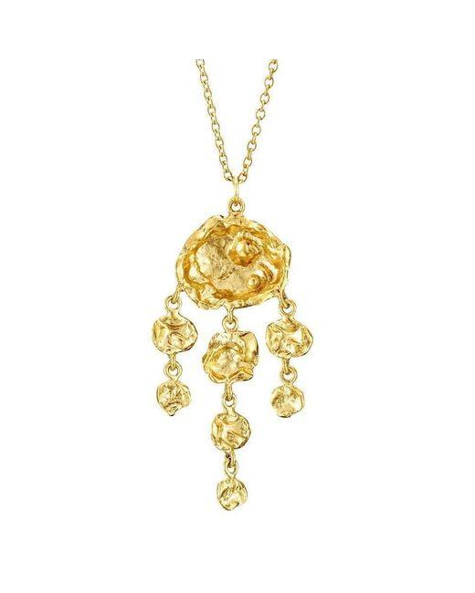 Joseph Lamsin Jewellery - Multicolor Jelly Fish Gold Vermeil Necklace - Lyst