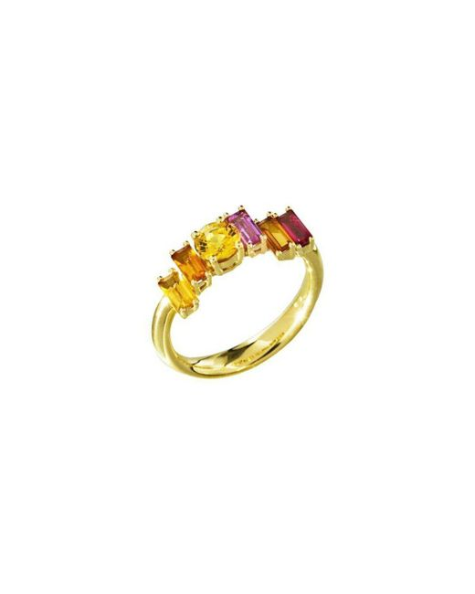 Daou Jewellery - Multicolor Golden Light Ring - Lyst