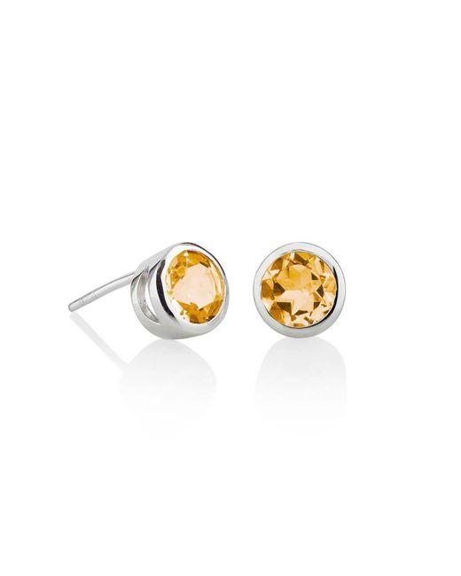 MANJA Jewellery - Multicolor Juliet Citrine Earrings - Lyst