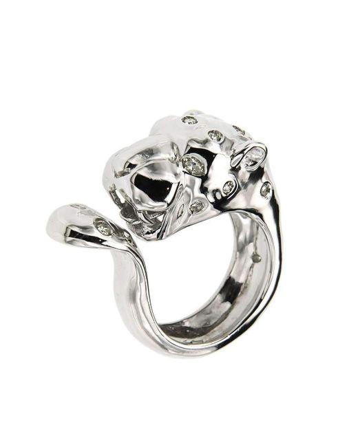 Botta Gioielli - Multicolor Cheetah Ring - Lyst