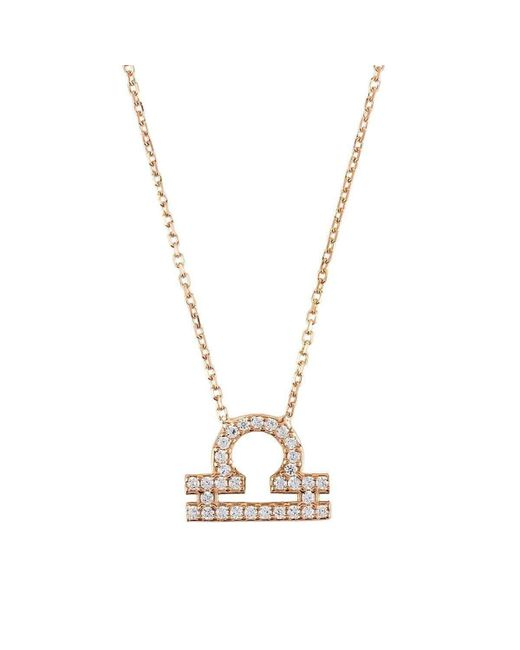 Latelita London | Metallic Libra Zodiac Necklace | Lyst