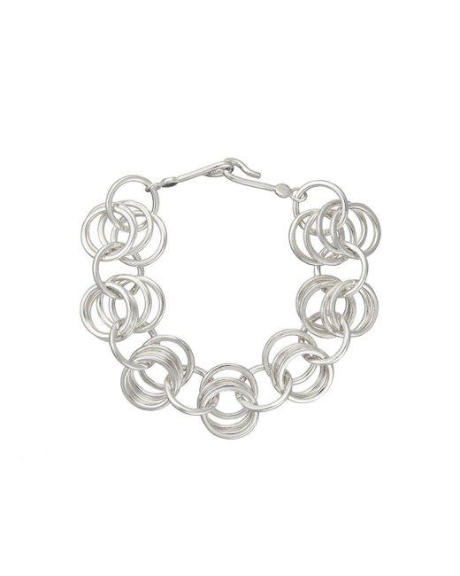 Ger Breslin - Metallic Embrace Bracelet - Lyst