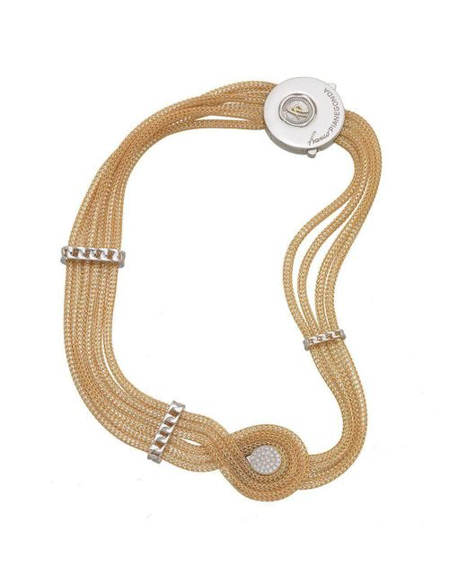 Franco Piane Designed By Franco Pianegonda - Multicolor Sweet Ripples Necklace - Lyst