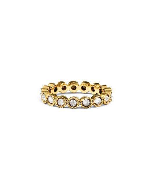 Sylva & Cie - Metallic 2.5 Champagne Stack Band - Lyst