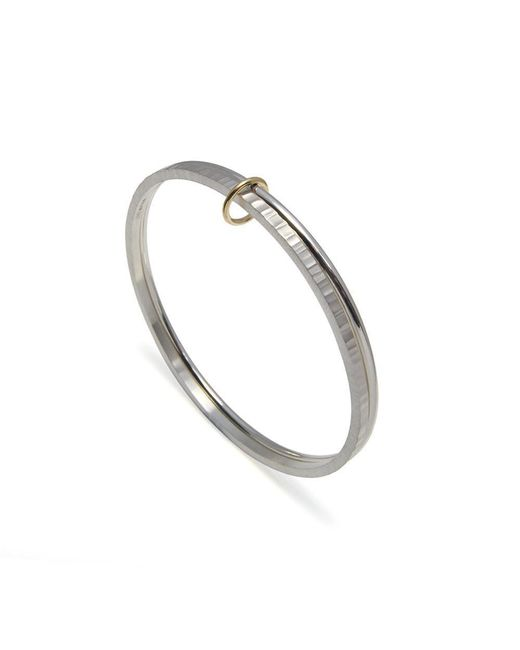 Heather O Connor - Metallic Double Connected Bangles - Lyst