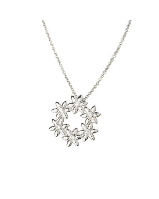 Asa Iceland - Metallic Summer Breeze Flower Crown Pendant - Lyst