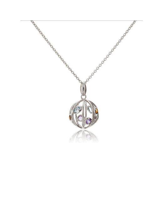 MANJA Jewellery - Multicolor Small Votra Necklace - Lyst