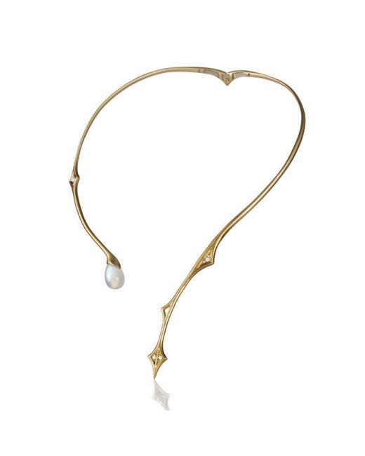 Anahita Jewelry - Metallic Serpent Choker - Lyst