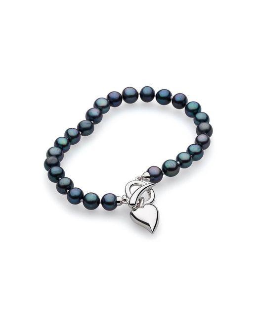 Kit Heath - Blue Desire Lustrous Peacock Pearl Toggle Bracelet - Lyst