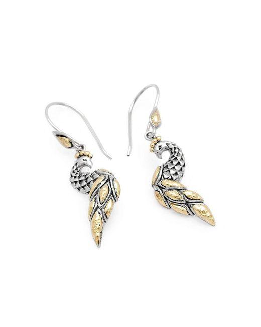 Deni Jewelry   Metallic Phoenix French Wire Earrings   Lyst