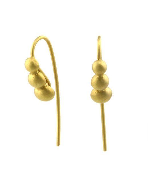 Prism Design - Metallic 9kt Gold Sulis Earrings - Lyst
