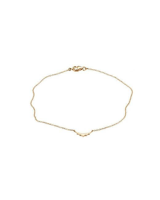 Mimata - Metallic Empress - Yellow Gold Bracelet - Lyst
