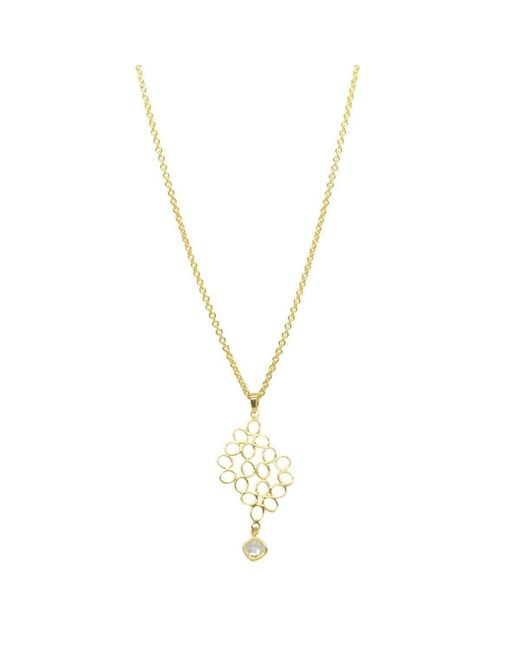 Purnell - Metallic Gold Long Nectar Necklace - Lyst