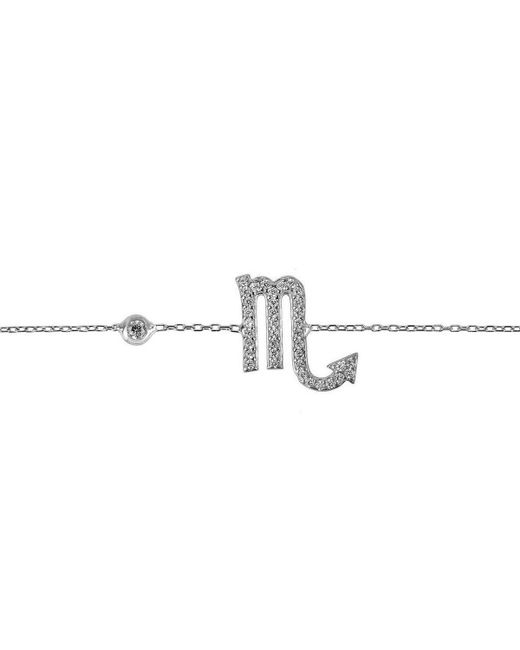 Latelita London - Metallic Scorpio Zodiac Bracelet Silver - Lyst